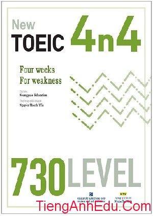 New TOEIC 4n4 - 730 Level