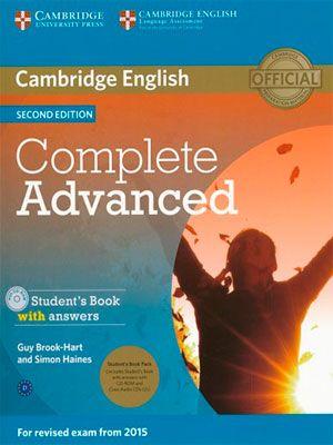 Cambridge Complete Advanced CAE Second Edition