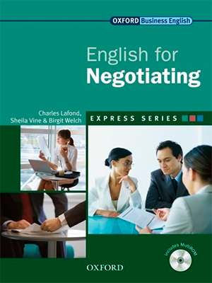 Oxford English for Negotiating